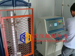 拉力机现场试验(河南周口电力公司)