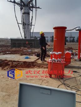 220KV电力电缆交流耐压试验